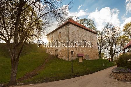 kandava latvia livonian military castle was