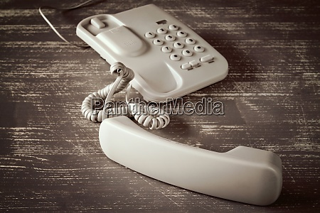 vintage touch tone telephone