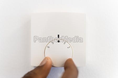 radiator heater temperature control