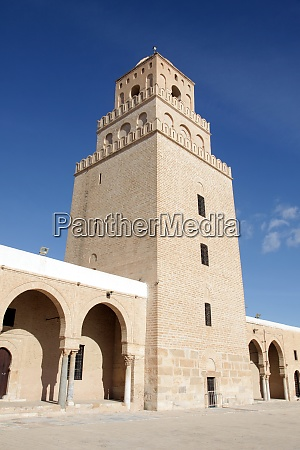 the great mosque from kairouan tunisia