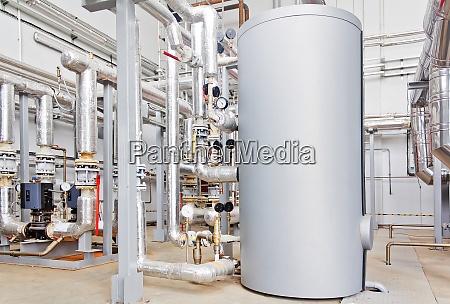 hot water industrial boiler