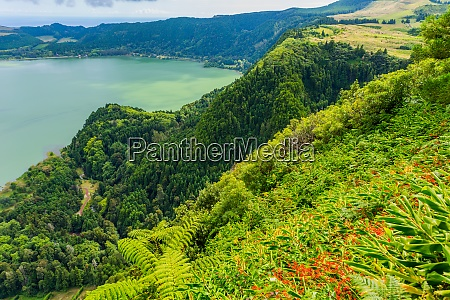 view of the lake furnas