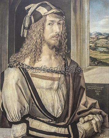 self portrait of albrecht durer or