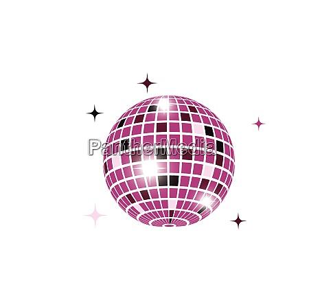 disco ball icon vector illustration design