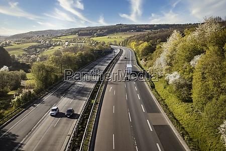 autobahn landscape