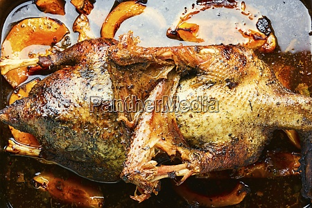 whole roast goose