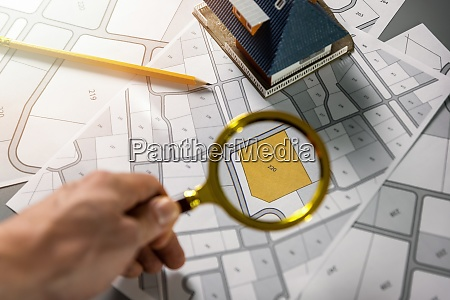 searching building plot for family house