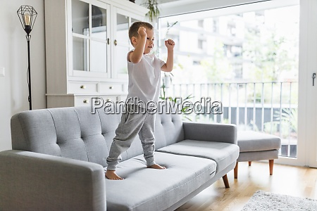 cute child at home in the