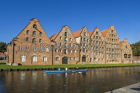 germany luebeck at the trave