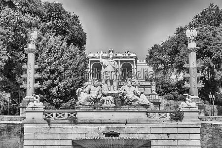 fontana del nettuno major landmark in