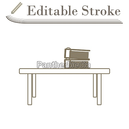 office low table icon