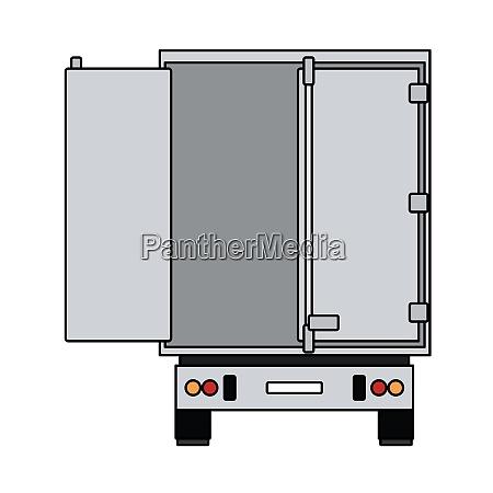 truck trailer rear view icon