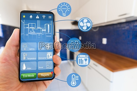smart kitchen home automation