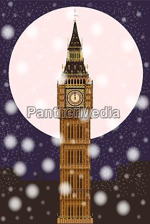 london christmas eve