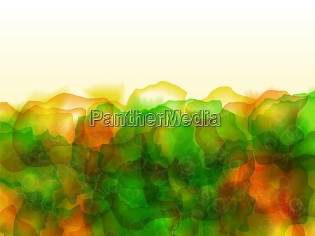 bright colored watercolor background