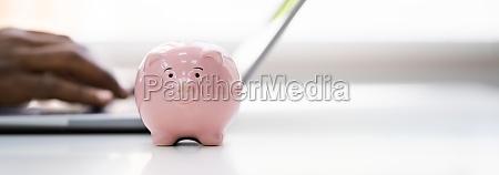 save money online using bank piggy
