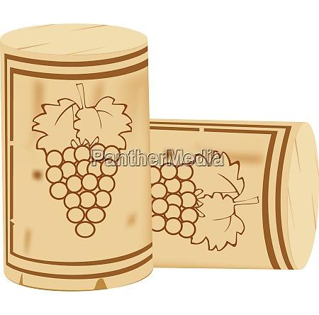 cork stopper for sparkling wine bottles