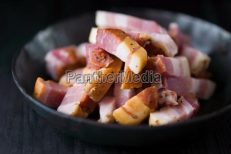 rustic italian pancetta bacon