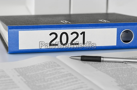 folder with the label 2021