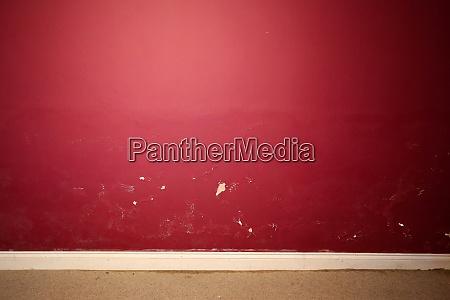 interior wall damaged by damp