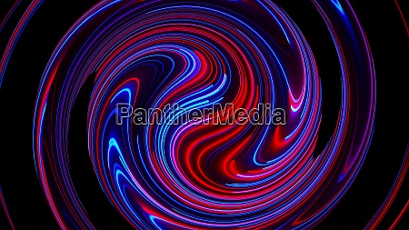 computer generated abstract twist background 3d