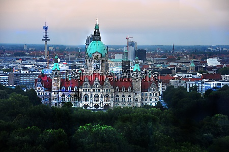 new city hall in hannover