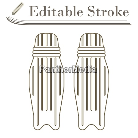 cricket leg protection icon