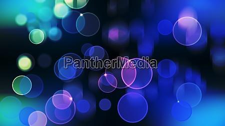 beautiful bokeh with multi colors lights