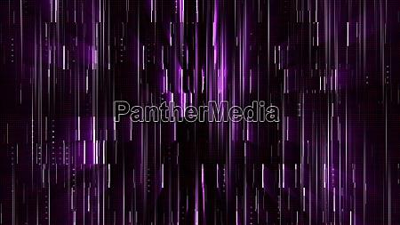 abstract glow digital in dark