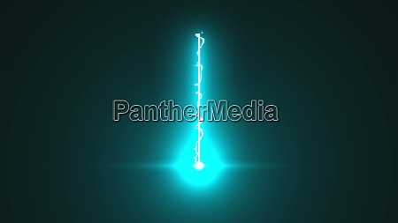 abstract laser beam with electricity effect