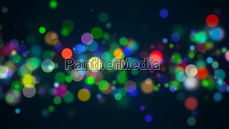 bokeh with multi colors lights bokeh