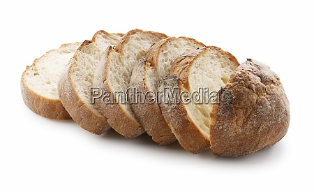 hard bread placed on a white
