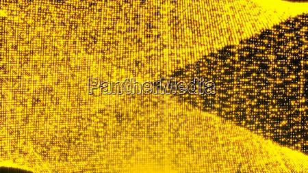 gold glittering particles digital illustration backdrop