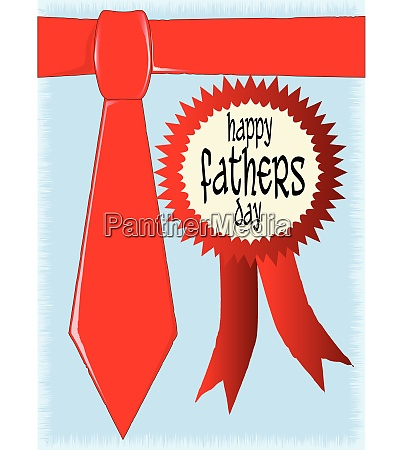 happy fathers day rosette