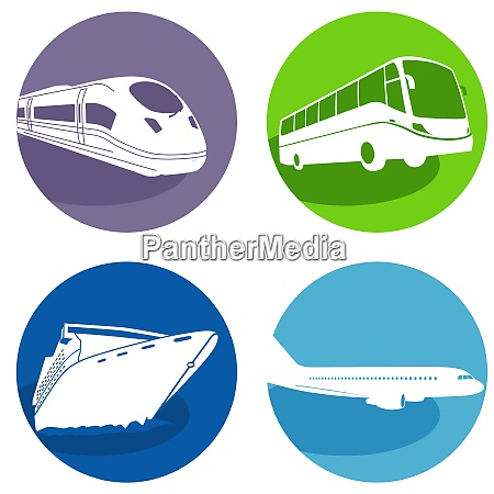 travel by bus express train cruise
