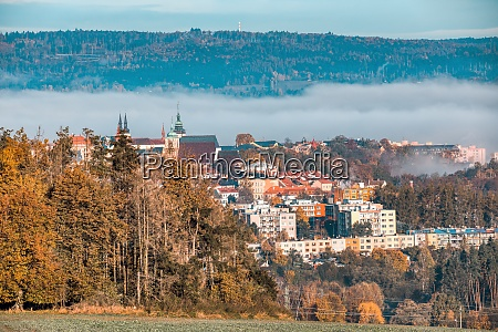 view of the city of jihlava