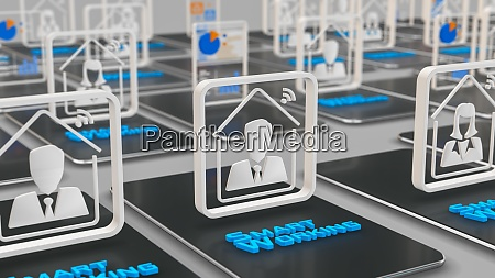 conceptof smart working
