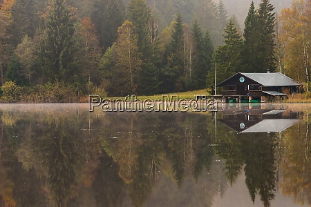 autumn weather at the kirchsee
