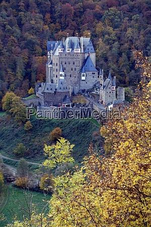eltz castle 12th century high castle