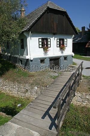old country house in central europe