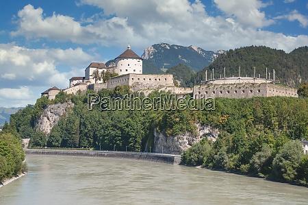 kufstein at river inn tirol austria