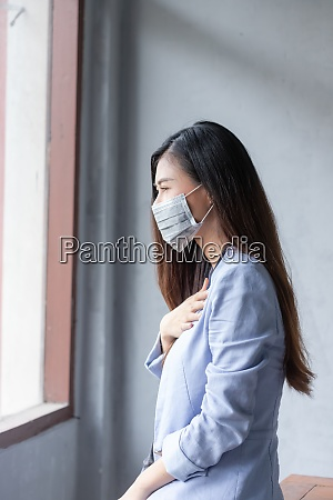women who have a cough and