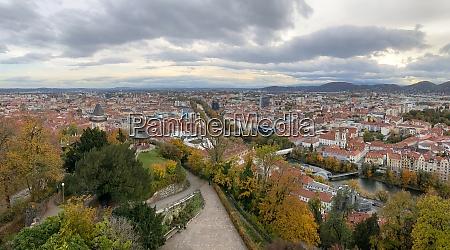 graz capital city of styria in