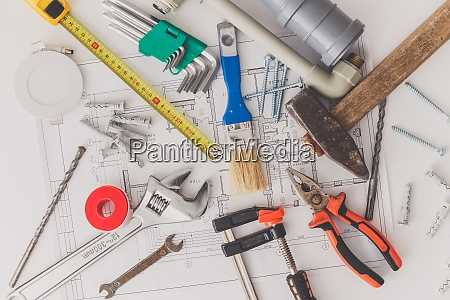 drawings and tools for repair and