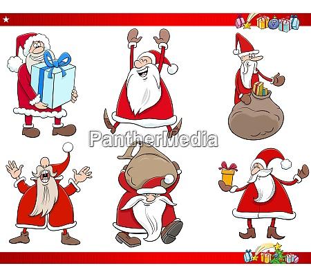 cartoon, santa, claus, christmas, holidays, characters - 28981130