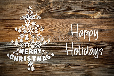 christmas tree white decoration ornament happy