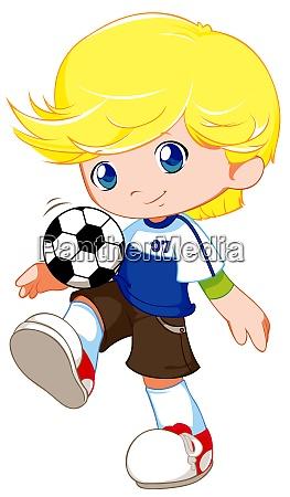 cute sports boy