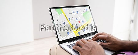 online gps location map search