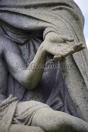 close up of mary holding jesuss