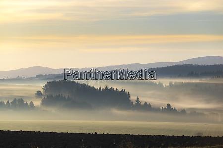 landscape in low tatras slovakia